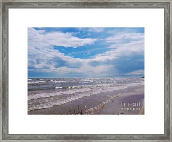 Neshotah Beach Framed Print