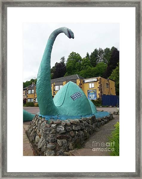 Nessie The Loch Ness Monster Framed Print
