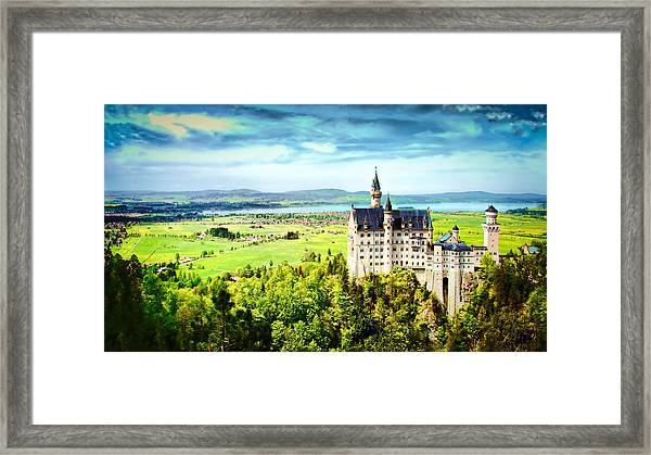 Framed Print featuring the photograph Neuschwanstein Castle by Kevin McClish