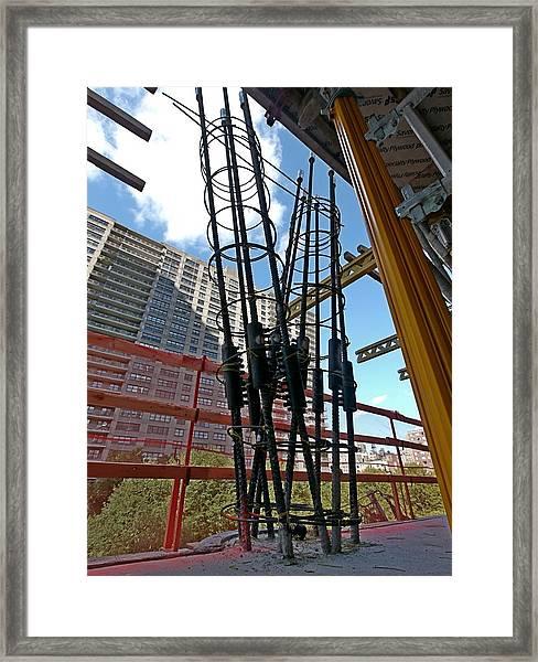 Neuvo Rebar Framed Print