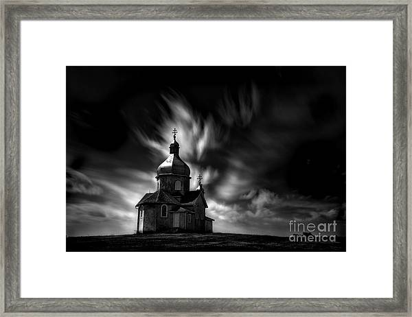 Never Be Afraid Framed Print