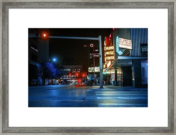 Never The Right Time Framed Print