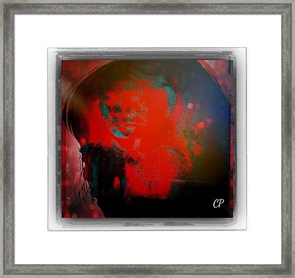 Nevermind Framed Print