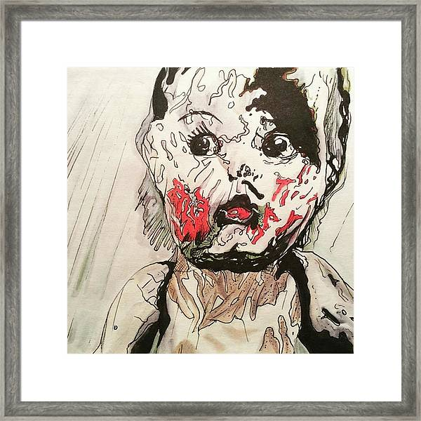 New Age Thriller Framed Print