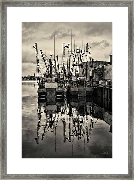 New Bedford Waterfront No. 1 Framed Print