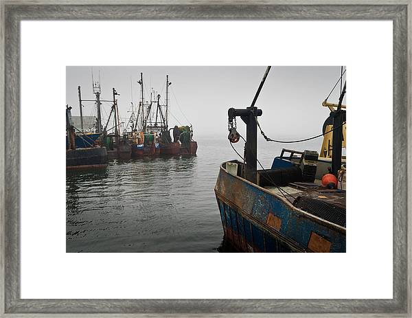 New Bedford Waterfront No. 2 Framed Print
