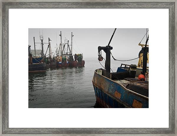 New Bedford Waterfront No. 2 Framed Print by David Gordon