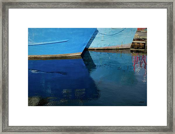New Bedford Waterfront X Framed Print