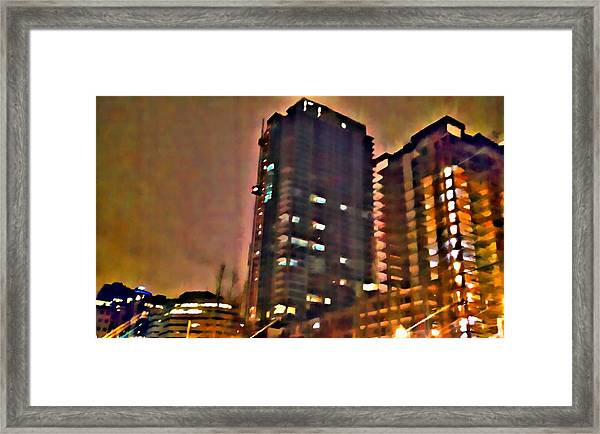 New Construction 2 Framed Print