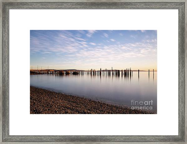 New Day In The Bay Framed Print