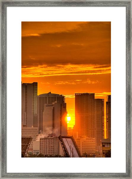 New Day In The City Framed Print by William Wetmore