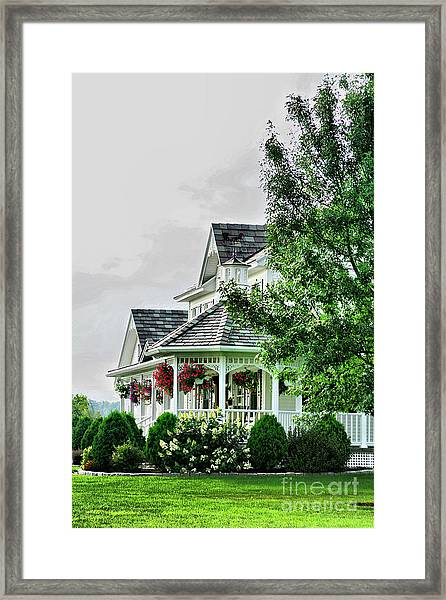 New England Beauty Framed Print