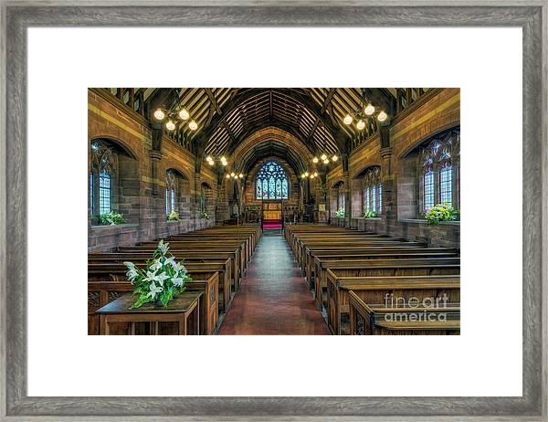 New Every Morning Is The Love Framed Print