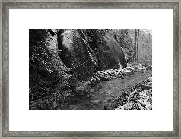 New Fallen Snow Framed Print