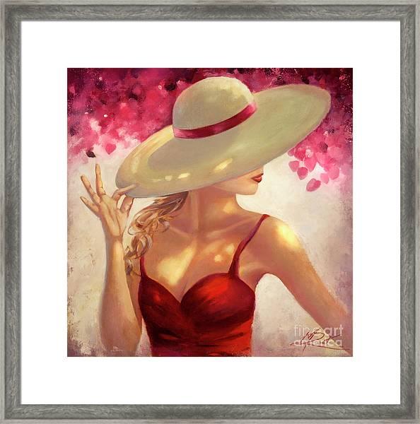 New Hat Framed Print