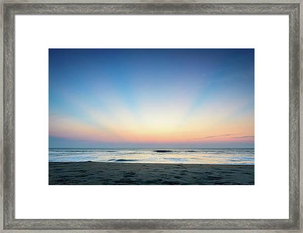 New Horizon Framed Print