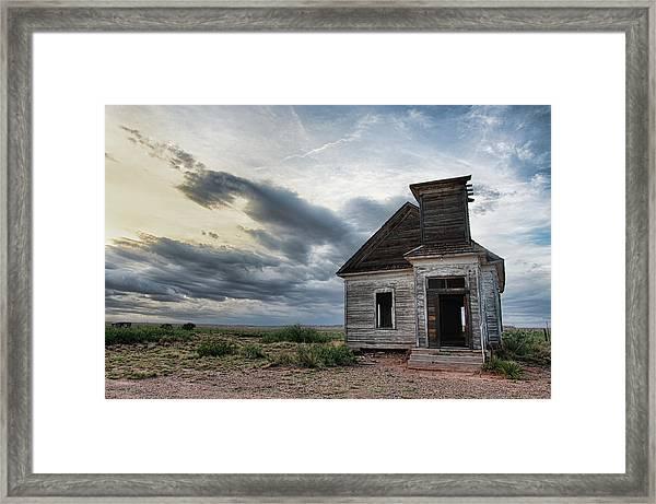 New Mexico Church # 2 Framed Print