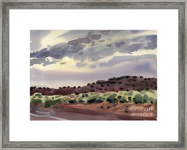 New Mexico Evening Framed Print