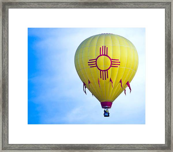 New Mexico Shines Framed Print