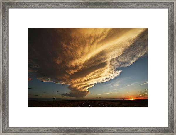 New Mexico Structure Framed Print