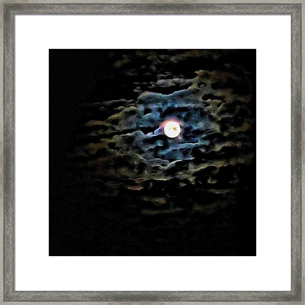 New Moon Framed Print