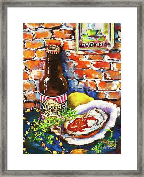 New Orleans Treats Framed Print