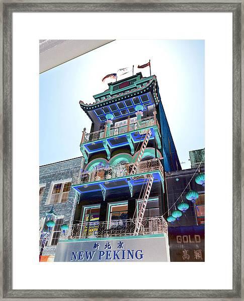New Peking Framed Print