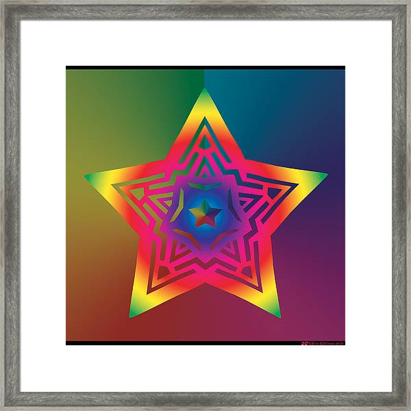 New Star 1a Framed Print