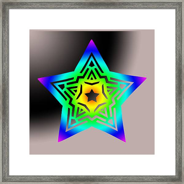 New Star 1b Framed Print