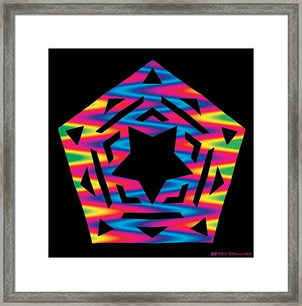 New Star 2 Framed Print
