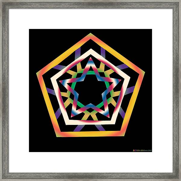 New Star 4b Framed Print