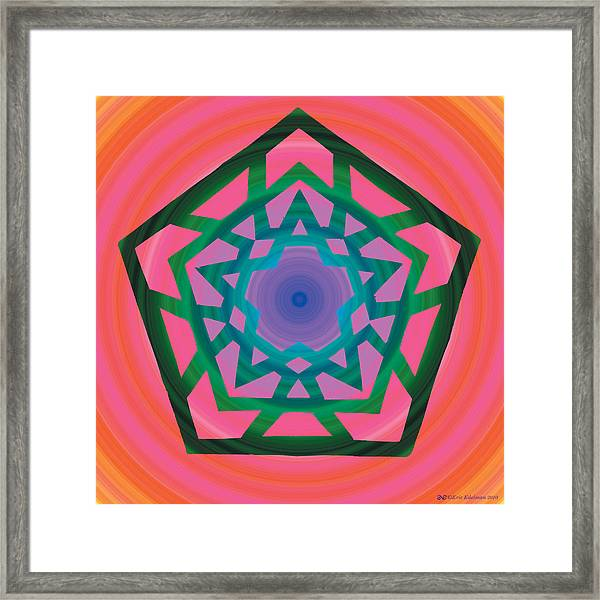 New Star 4e Framed Print