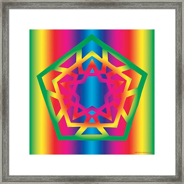 New Star 4f Framed Print