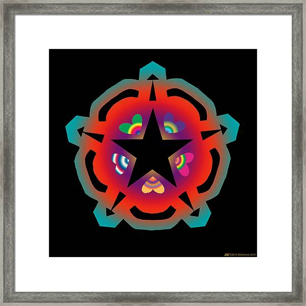 New Star 6 Framed Print