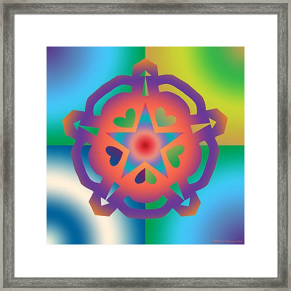 New Star 6a Framed Print