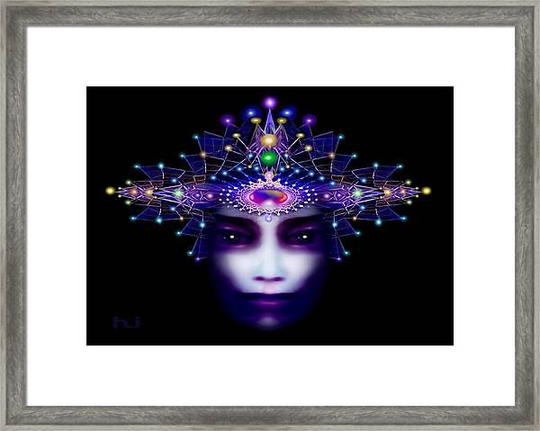 Celestial  Beauty Framed Print