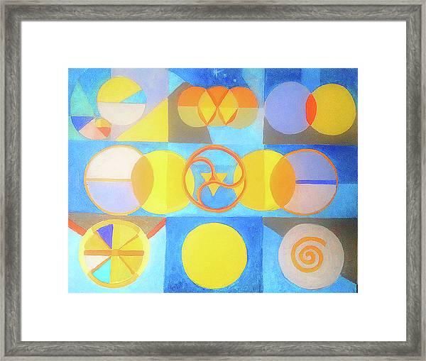 Geometrica 1 Framed Print