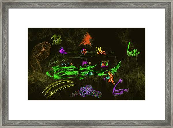 New Wold #g9 Framed Print