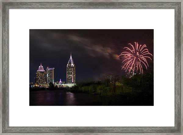 New Year Celebration 3 Framed Print