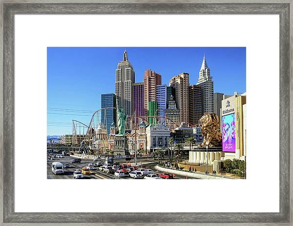 New York , New York Framed Print