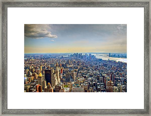 New York City - Manhattan Framed Print