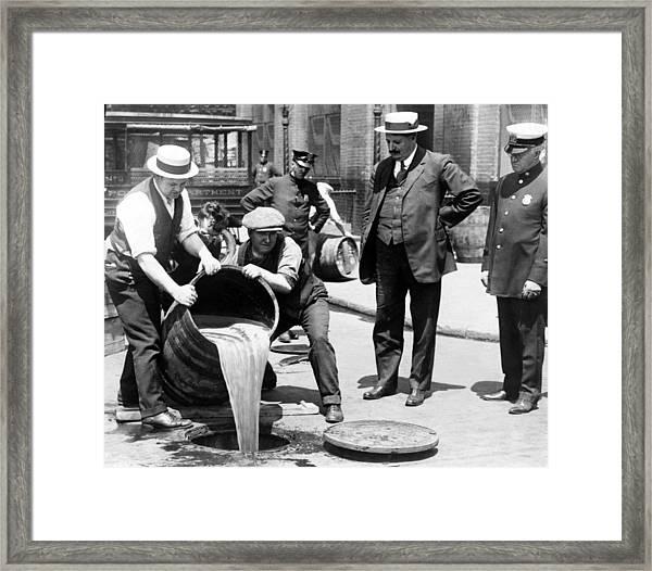 New York City Deputy Police Framed Print