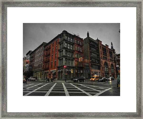 New York City - Soho 006 Framed Print