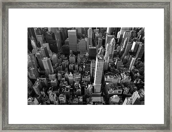 New York, New York 5 Framed Print