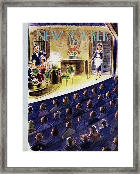 New Yorker August 14 1954 Framed Print