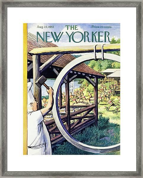 New Yorker August 22 1953 Framed Print
