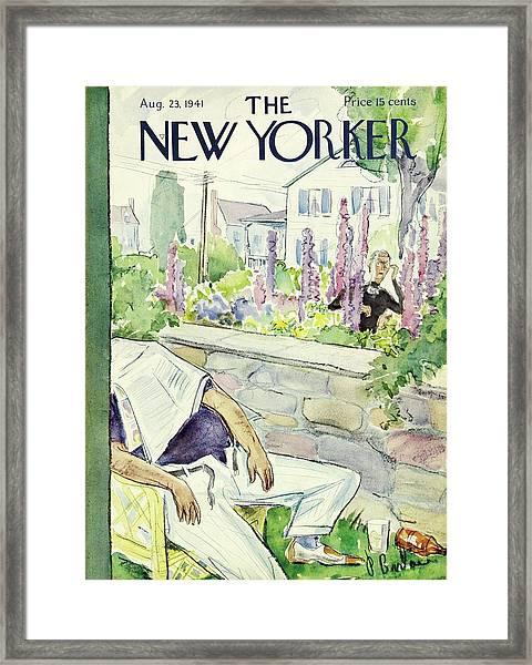 New Yorker August 23 1941 Framed Print