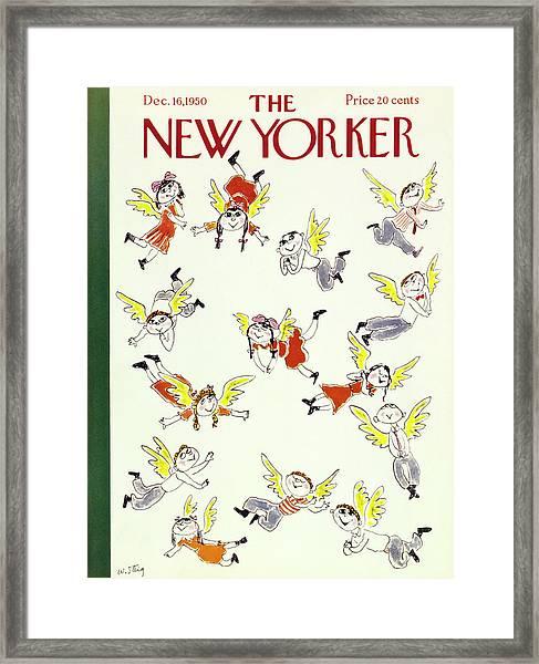 New Yorker December 16 1950 Framed Print