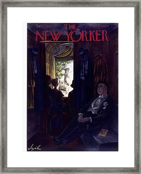 New Yorker December 2 1950 Framed Print