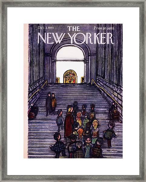New Yorker December 3 1955 Framed Print
